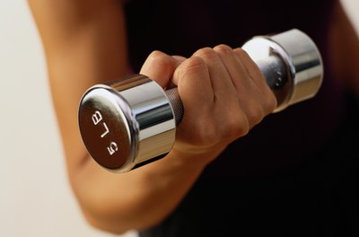 Keep your dumbbells in a handy place so you use them often.