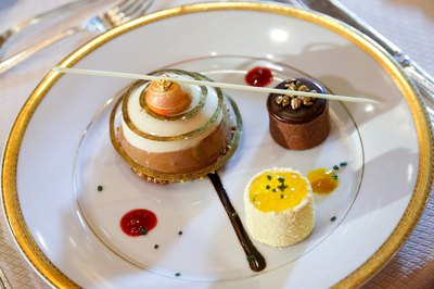 Pastry chefs create desserts that are unmistakably handmade.
