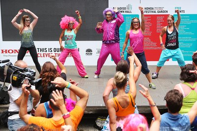 Zumba classes can be a lot of fun while you get a workout.