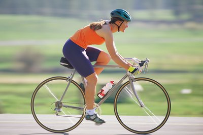 You'll improve the strength and tone of your legs when you cycle.