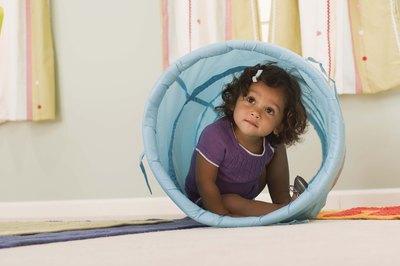 "Nursery school is often a toddler's first ""school"" experience."