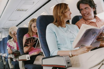 Long periods of inactivity, such as on long flights, can lead to deep-vein thrombosis.