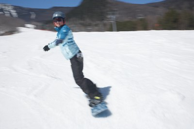 Your front foot in snowboarding is a matter of what feels comfortable.