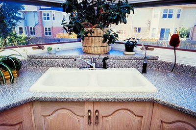 Granite kitchen and bathroom surfaces increase a home's resale value.