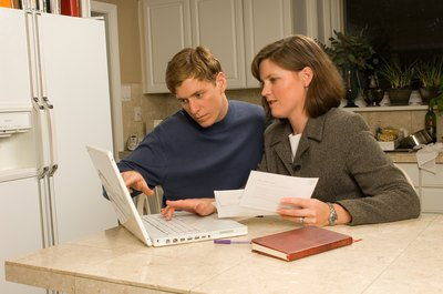 Creating a household budget is one step toward managing your finances.