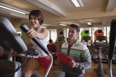 Used correctly, the elliptical machine tones your gluteal muscles.