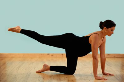 Performing single leg extensions regularly can tone your buttock muscles.