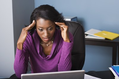 Personal problems can affect an employee's work performance.