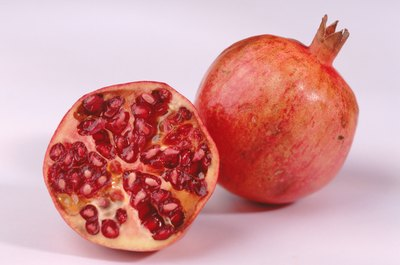 Pomegranate juice is rich in antioxidants.