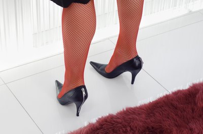 High heels ravage your poor calf muscles.