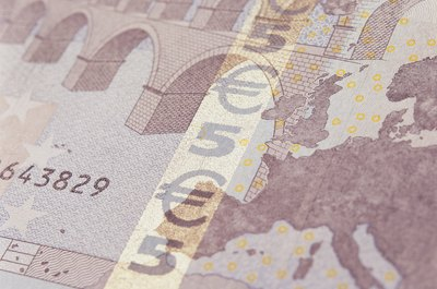 You can cash a check in euros at a U.S. bank.