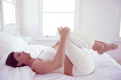 Relieve your aching hips with a few simple stretches in the morning.