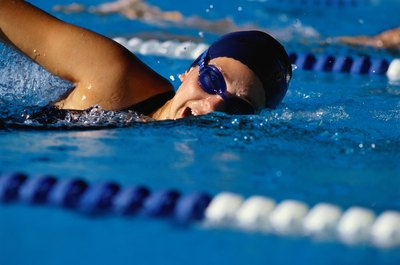 Freestyle swimming works out and strengthens more than the obvious muscles.