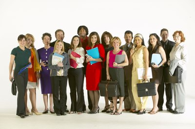 Age, gender and ethnicity are examples of workplace demographics.