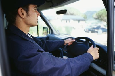 Cross Country Courier Driving Jobs - Woman