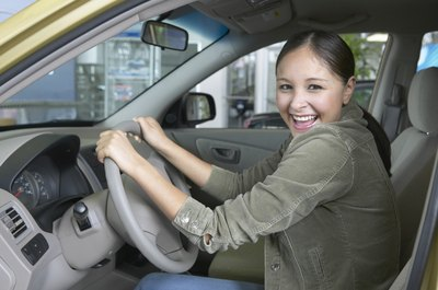 Having a co-signer can help lower the costs of your new car.