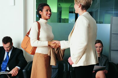 Make a strong first impression by dressing professionally for your interview.