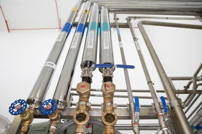 Pipefitters design and install pipes to carry water, gas and chemicals.