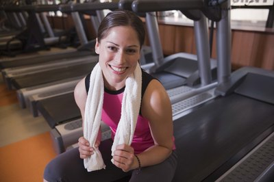 Treadmill workouts can reduce overall body fat thereby slimming your calves.