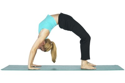 A pose like this needs a mat that makes you feel secure.