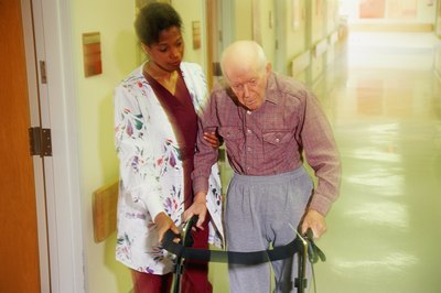 CNAs and PCAs often work at nursing homes.