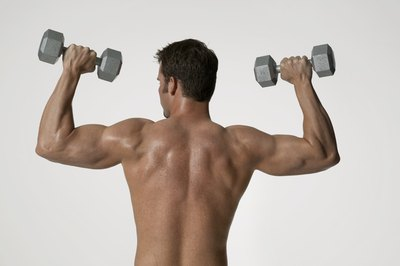 Exercising with strained muscles can harm your muscles.