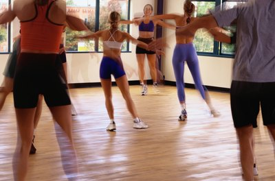 Regularly attending an aerobic class will help reduce your blood pressure.