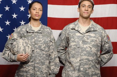 Military personnel can use benefits from the GI Bill for education.
