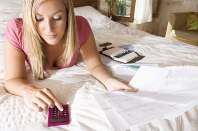 All you need is a little bit of information and a calculator to determine your interest payments.