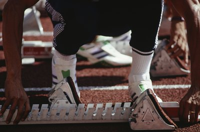 Compression socks can propel running performance.