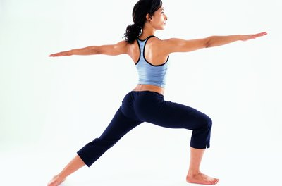 Lunges and other calisthenic exercises increase strength.