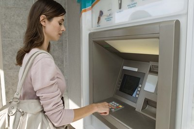 Deposits made in person are available faster than those made through ATMs.