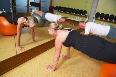 Pushups strengthen the muscles that surround your breasts.