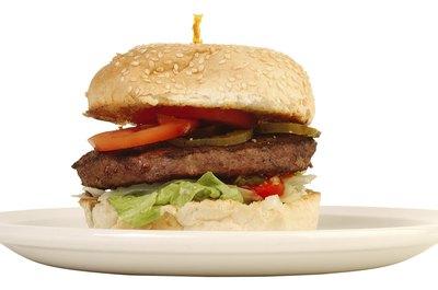 Hamburgers have some redeeming health benefits.