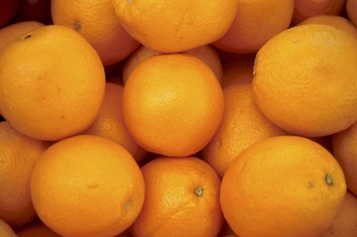 Oranges are a very good source of dietary fiber.