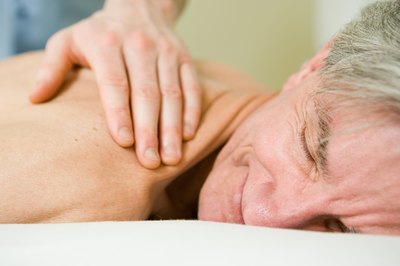 Geriatric massage therapists also work in assisted living and nursing homes.