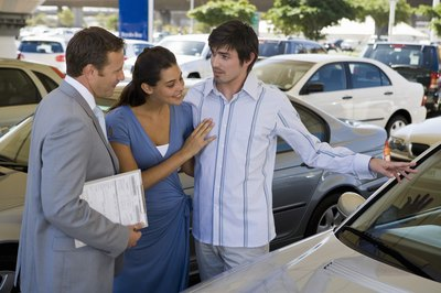 A new car budget helps you narrow the options at the car dealership.