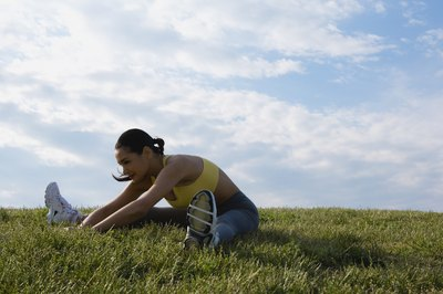 Stretching helps improve range of motion, but doesn't change muscle length.
