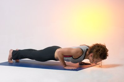 Planks are one type of isometric exercises for your obliques and spine.