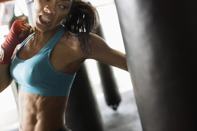 Leave your frustrations at your workout.