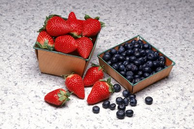 Berries are one component of a nutritious daily diet.