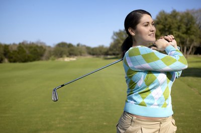 Resistance tube exercises can help you become a better golfer.