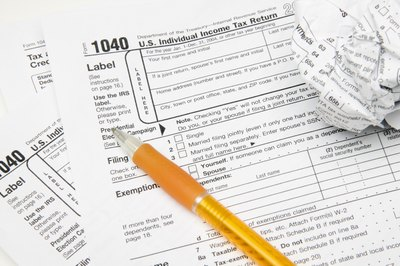 Tax debts generally won't show up on your credit report.