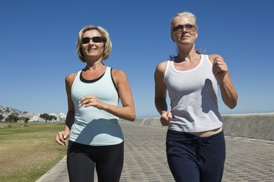 Walking regularly can help prevent age-associated weight gain.