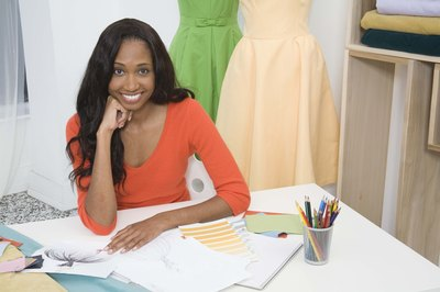 Fashion designers use creativity and artistic skill to design clothing.