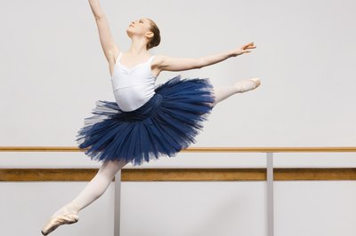 A ballet dancer requires a well-balanced diet to achieve her highest potential.