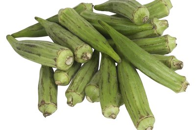 Eat more okra for your health.