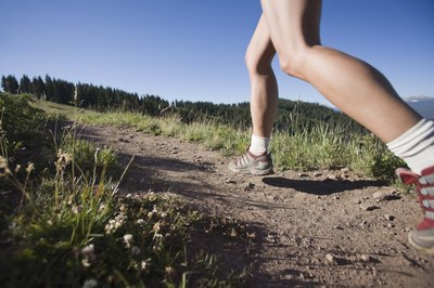 The stress of walking contributes to sore feet.