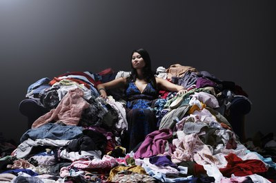 The amount of money spent on clothes varies for each family.