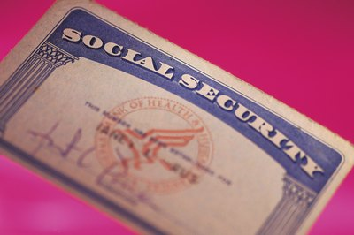The IRS matches the Social Security numbers on your return to the names on the cards.